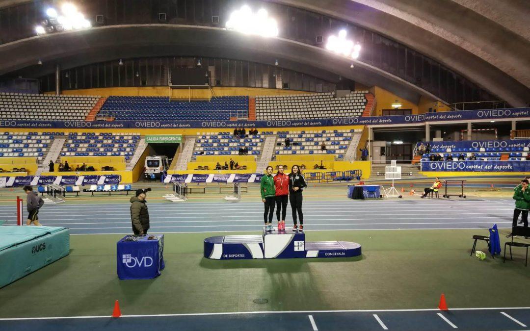 Resultados Campeonato de Asturias Absoluto y Sub-23 en pista cubierta.
