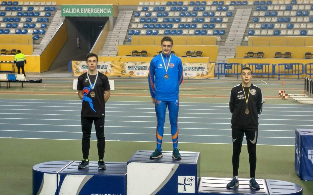 Resultados Campeonato de Asturias Sub-18 y Sub-20 de pista cubierta.