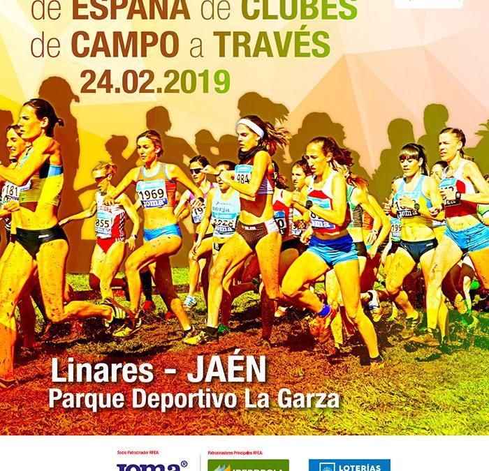 Información Campeonato de España de Cross por Clubes.