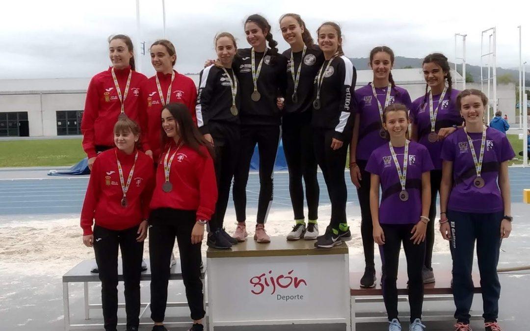 Resultados Campeonato de Asturias de Triatlon Sub-12 y 4×300 Sub-16.