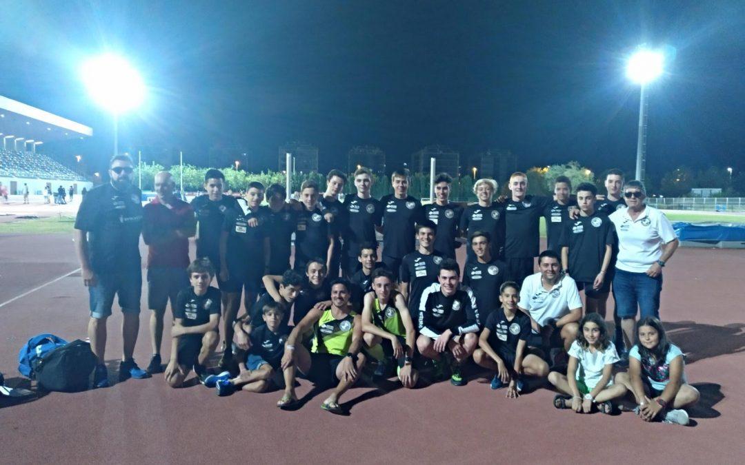 Resultados Campeonato de España Sub-16 por equipos.
