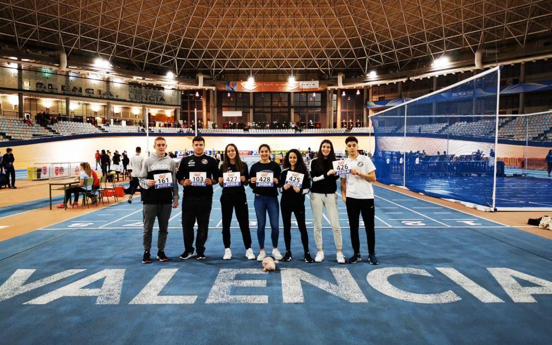 Resultados Campeonato de España Sub-18 de pista cubierta y de cross.