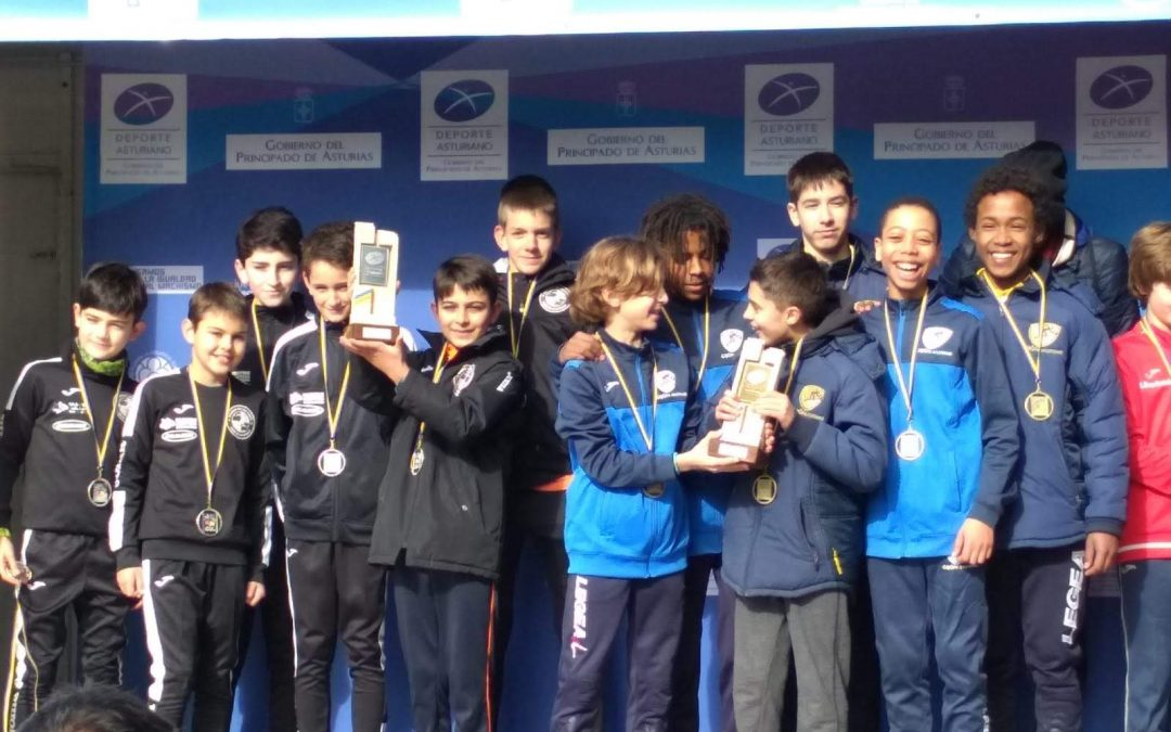 Resultados Campeonato de Asturias de Cross.