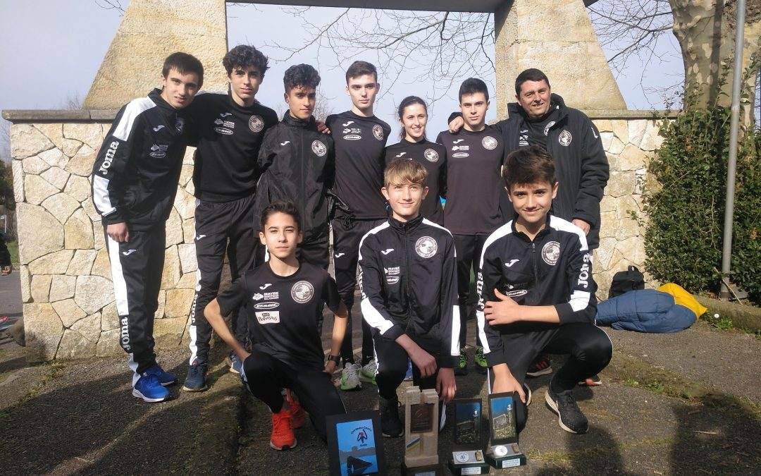 Resultados Campeonato de Asturias de Cross por equipos.