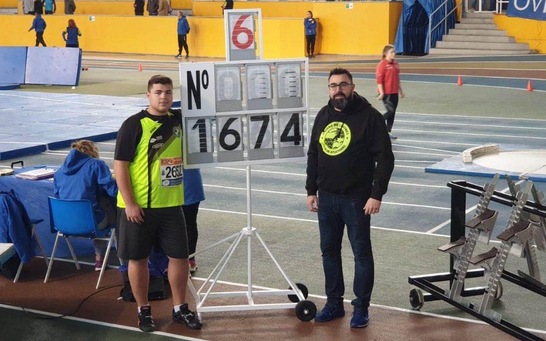 Resultados Campeonato de Asturias Absoluto de pista cubierta.