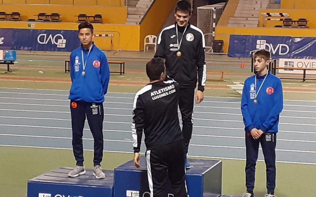 Resultados Campeonato de Asturias Sub-14 y Sub-16 de pista cubierta.